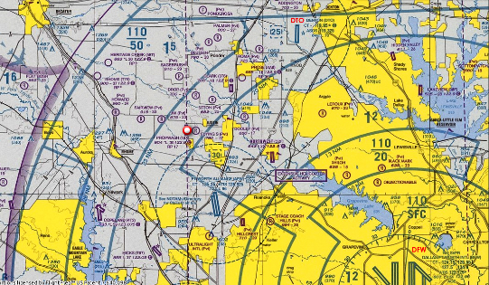 Map Of Justin Texas.Texas Aircraft Restoration Fox Aviation Find Our Location