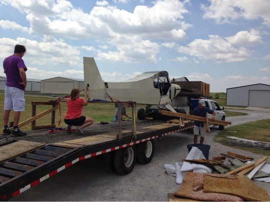 Aircraft Restorations in Progress - Texas Aircraft Restoration, Fox